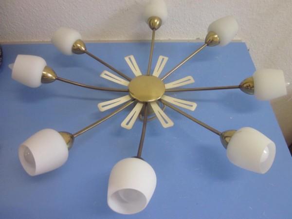 Lampe Deckenlampe mid-century era Stilnovo Mategot 50s