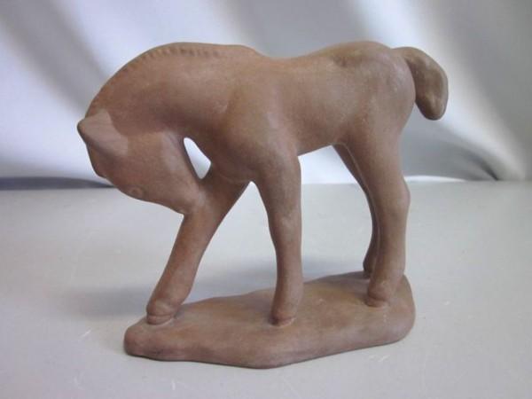 Plastik Esel - Rüppurr Fayence
