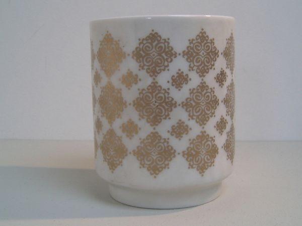 Vase mit Golddekor - Heinrich & Co.