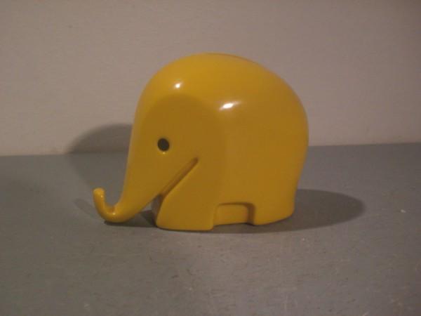 Spardose Elefant gelb- Luigi Colani