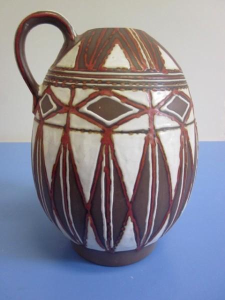 Kellinghusener Fayence Trenck Vase Studiokeramik