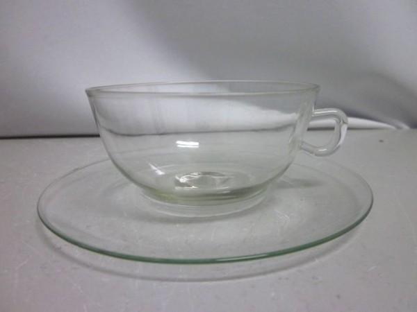 Teetasse Jenaer Glas - Fünfeckmarke - Wilhelm Wagenfeld 1930s