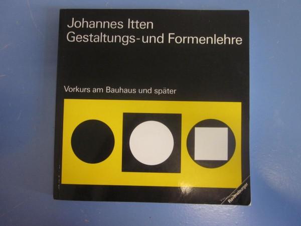 Johannes Itten - Gestaltungs- und Formenlehre
