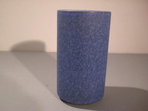 Blau-gesprenkelte Vase Hamelner Töpferei