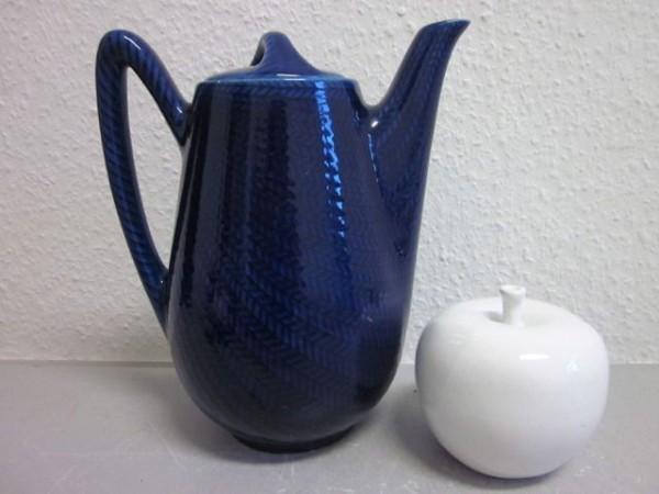 Kaffeekanne Rörstrand Blå Eld - Blue Fire - Herta Bengtsson