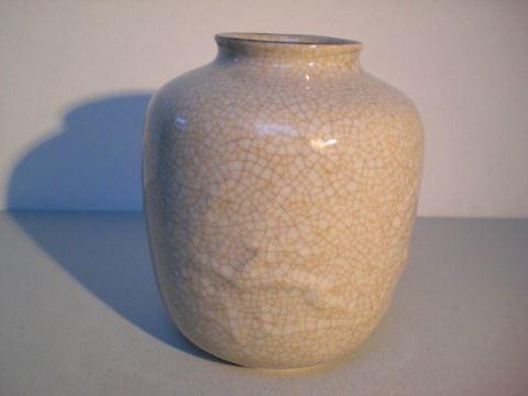 Vase mit Craquelée-Dekor - Wunsiedel