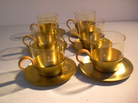 Teeservice aus Messing - Hein Matten
