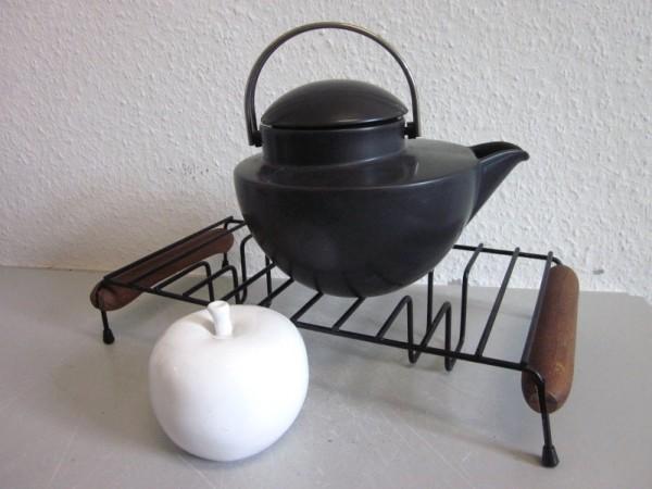 Speisewärmer Rechaud 50er 60er skandinavisches Design