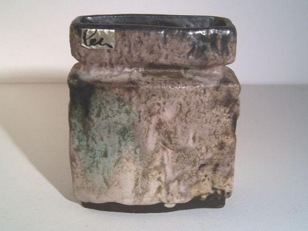Rechteckige Vase Helmut Schäffenacker