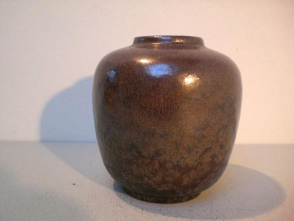 Vase mit irisierender Glasur - Karlsruher Majolika F. Glatzle
