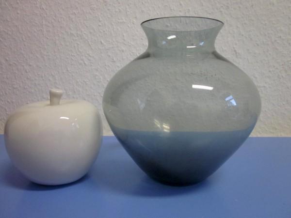 Herzvase turmalin Wilhelm Wagenfeld - WMF 50er