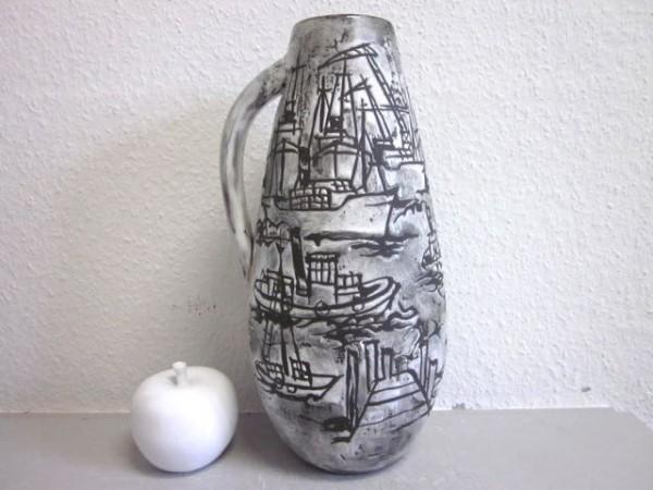 Gustav Spörri / Schaffhausen - seltene grosse Vase Studiovase um