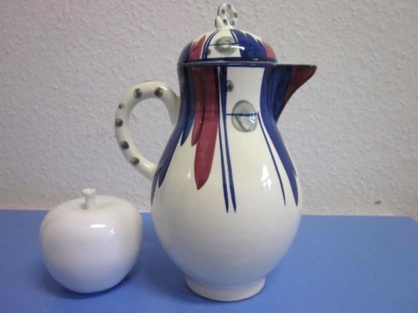 Hedwig Bollhagen - Velten Vordamm seltene grosse Kanne Kaffeekanne  um 1928