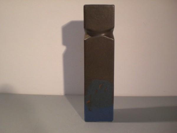 Blau-schwarze Studiovase - Karl Scheid
