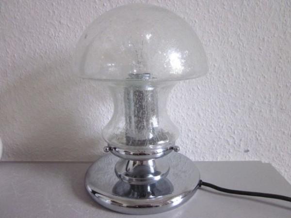 Grosse Pilzlampe Baum-Leuchten 70er-Jahre