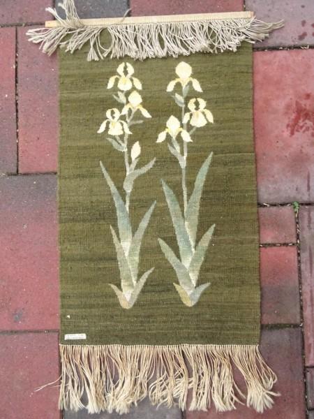 Alen Müller-Hellwig seltener Wandteppich Iris 1940er-Jahre Bauhaus Stil selten